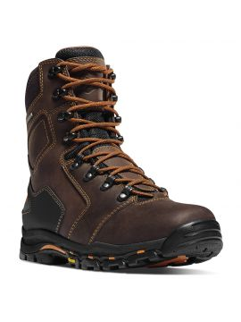 "Danner Vicious 8"" Soft Toe Brown"