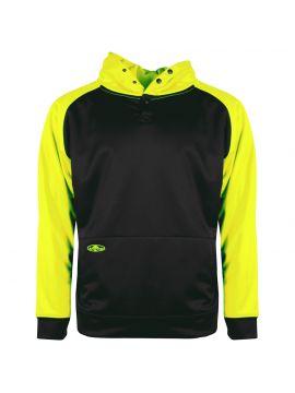 2-Tone Tech Single Thick Pullover Sweatshirt