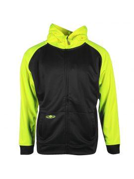 2-Tone Tech Single Thick Full Zip Sweatshirt