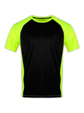 2-Tone Transpiration T-Shirt (Short Sleeve) with GEO cool