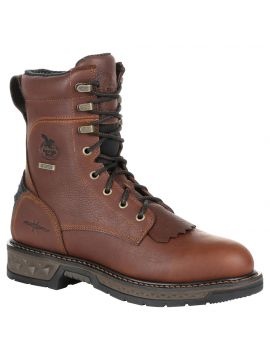 Georgia Boot Carbo-Tec LT Waterproof Lacer Work Boot - Soft Toe
