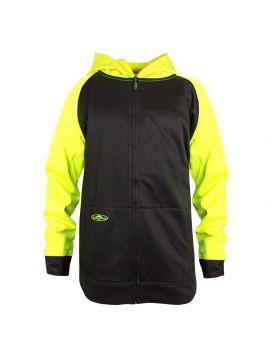 2-Tone Single Thick Full Zip Sweatshirt