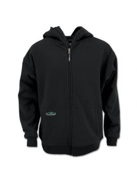 Single Thick Full Zip Sweatshirt