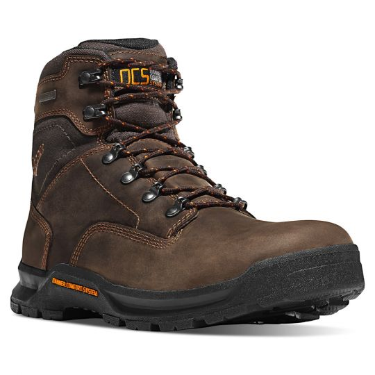 "Danner Crafter 6"" Soft Toe Non-Insulated Brown"