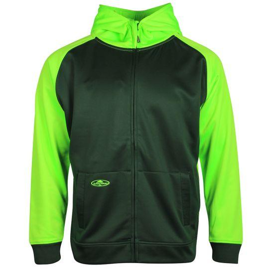 2-Tone Tech Double Thick Full Zip Sweatshirt