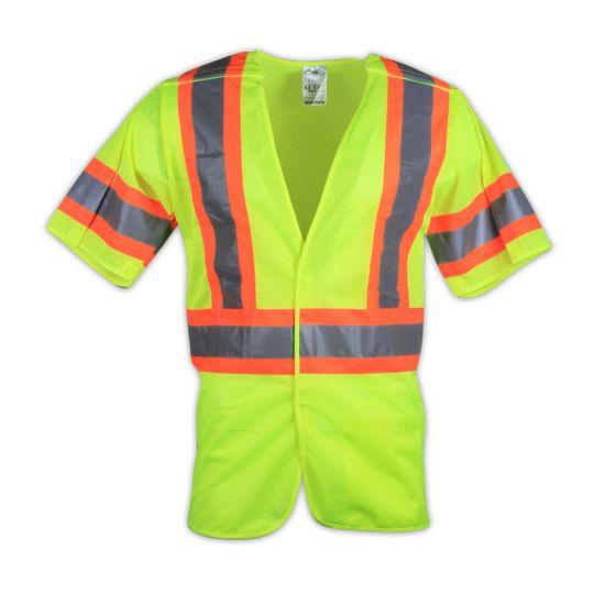 HVSA 5-Point Breakaway Vest With Contrast Trim (Class 3)