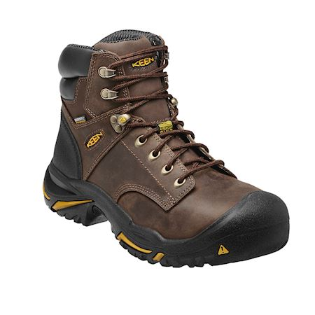 "Keen Utility Mt. Vernon Mid 6"" Boot (WATERPROOF/STEEL TOE)"