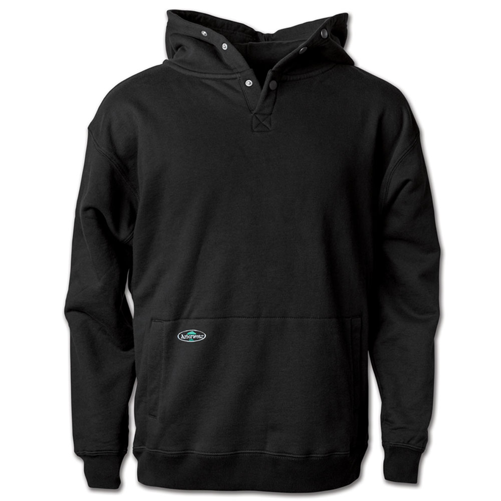 Double Thick Pullover Sweatshirt: Heavyweight Hooded Cotton Pullover
