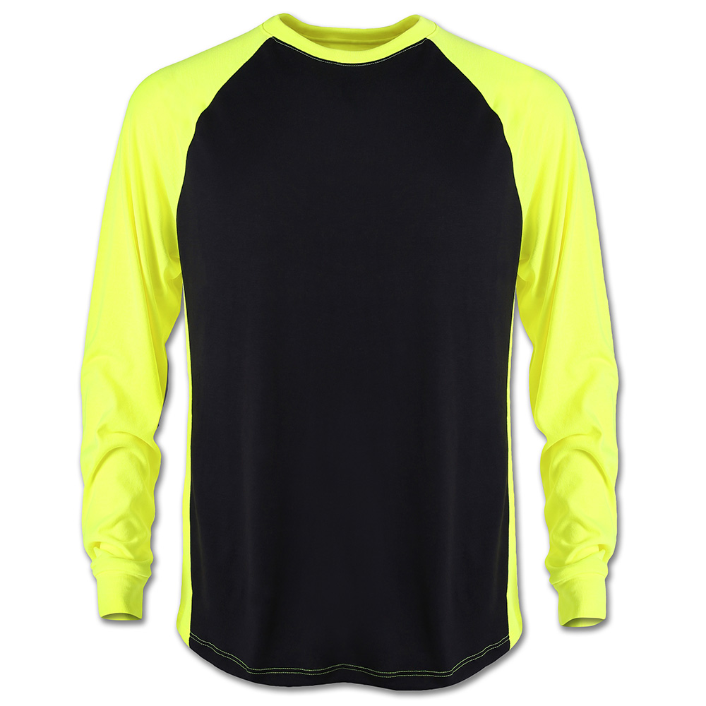 2 tone tech t shirt long sleeve