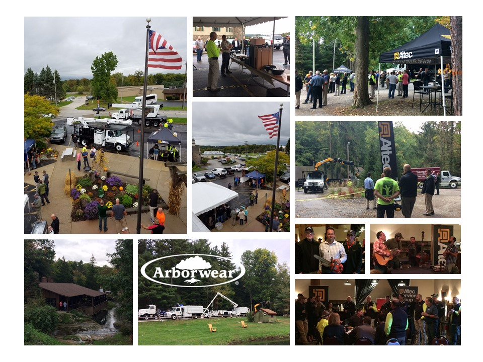 Altec Tree Care Summit event collage